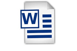 image of word file.