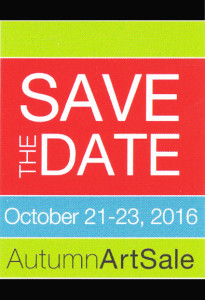save the date art sale 2016